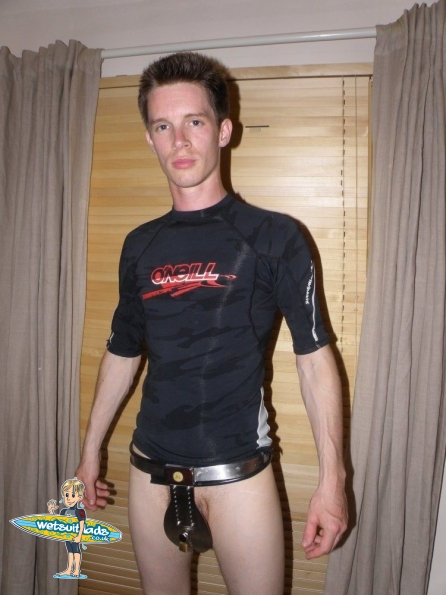 Nick : Deluxe Male Stainless Steel Chastity Belt