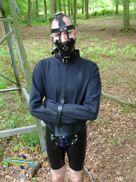 Rubber + straitjacket