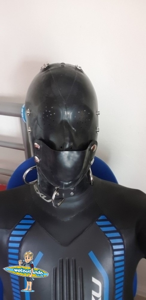 Regulation Custom Rubber Hood