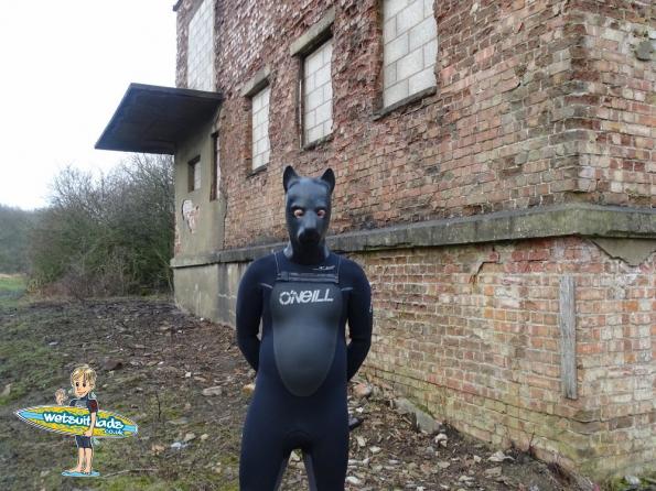 O'Neill 5/4 Mutant wetsuit + pup hood
