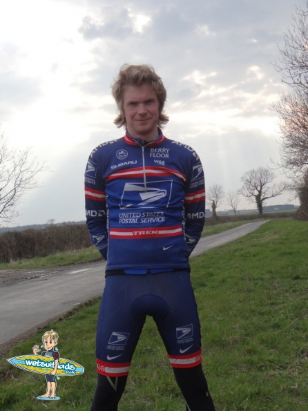 USPS team cycling gear