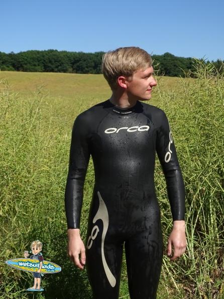 Jack wearing the Orca speedsuit