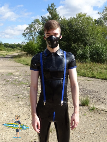 Jay : Rubber Skinhead Gear